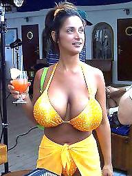 Vacation, Beach, Mature beach, Mature boobs, Beach mature, Horny