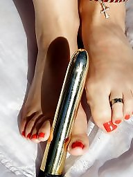 Outdoor, Clit, Foot, Fetish, Feet fetish