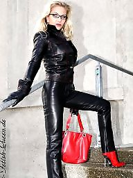 Boots, Leather, Latex, Pvc, Mature leather, Mature boots