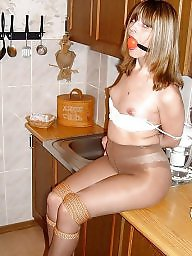 Pantyhose, Tied, Tied up, Tie
