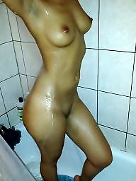 Amateur, Shower, Bathroom, Naked, Bad, Showers