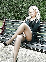 High heels, Brunette