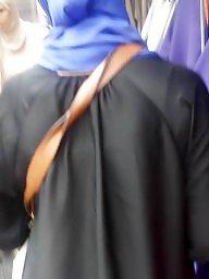 Hijab ass, Street