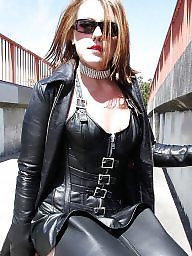 Boots, Latex, Leather, Pvc, Mature porn, Mature pvc