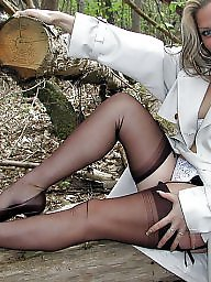 Upskirt stockings, Vintage stockings, Leggings, Legs, Show, Woods