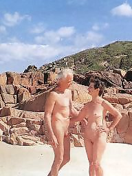 Nudist, Couples, Nudists, Mature nudist, Mature couple, Mature public