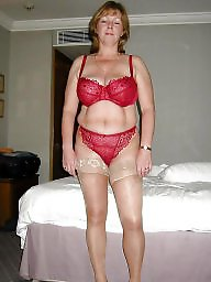 Mature stockings, Granny stockings, A bra, Granny stocking, Knickers, Granny mature