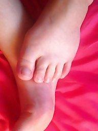 Feet, Bbw blonde