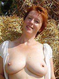 Redhead, Redhead mature, German, Mature redhead, German mature