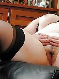 Spreading, Bbw stockings, Spread, Hairy bbw, Bbw spread, Bbw hairy