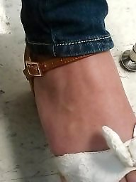 Foot, Turkish feet, Candid, College, Turkish teen, Candid feet