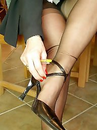 Stockings, Vintage, Vintage mature, Stocking mature, Suit, Mature ladies