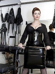 Boots, Leather, Latex, Milf leather, Boot, Femdom milf