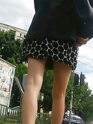 Mini skirt, Skirt, Spy, Romanian, Skirts, Teen voyeur