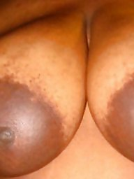 Areola, Ebony bbw, Big nipple