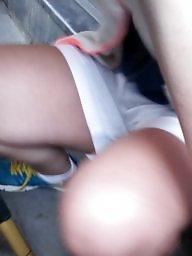 Legs, Chubby, Leggings, Table