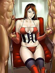 Cartoon, Femdom cartoon, Bondage, Femdom cartoons, Bdsm cartoon, Hentai