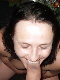 Amateur wife, Wife blowjob
