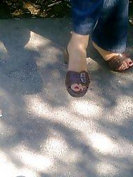 Candid, Milf feet, Candid feet