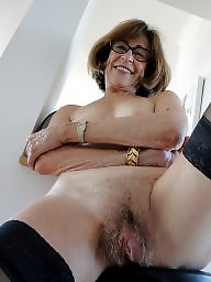 Hairy, French, French mature, Mature stocking, Hot mature, Stocking mature