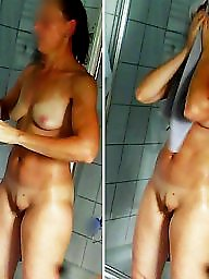 Bathroom, Hidden cams, Bad, Voyeur shower