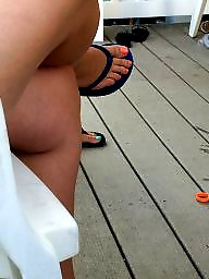 Feet, Vacation, Candid, Candid feet