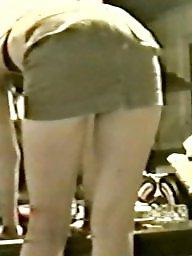 Heels, Blonde milf, A bra, Red, Bitch