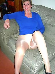 Granny, Pantyhose, Granny stockings, Stockings, Mature pantyhose, Stocking