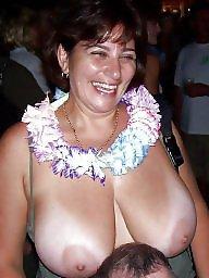 Tits, Faces, Face, Big nipples, Areola