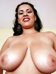 Bed, Busty latina, Flashing boobs, Latin