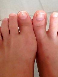 Feet, Mirror, Blonde