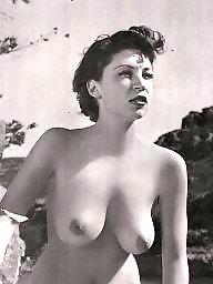 Magazine, Model, Vintage tits