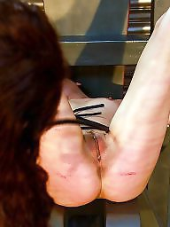 Mature bdsm, Whip, Strip, Whipping, Stripping, Mature brunette