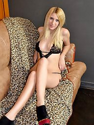 Hot blond, photos
