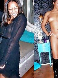 Dressed undressed, Ebony, Dress, Undressing, Undressed, Undress