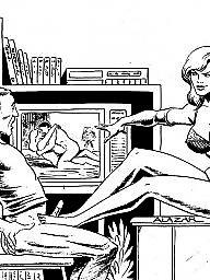 Femdom cartoon, Femdom art, Art, Femdom cartoons, Cartoon femdom, X art