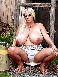 Big boobs, Blond, Blonde bbw, Bbw blonde