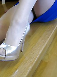Shoes, Shoe, Milf upskirt