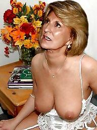 Lingerie, Mature lingerie, Mature tits