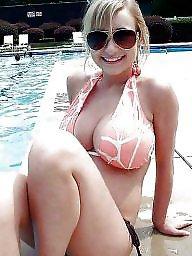 Bbw, Bikini, Beach, Curvy, Thick, Girl