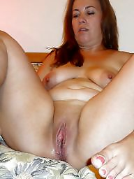 Mom, Cunt, Spreading, Chubby, Mature spread, Spread