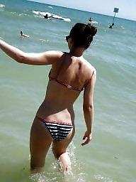 Beach, Teen beach, Bikinis, Bikini amateur
