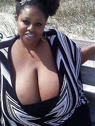 Ebony boobs, Big ebony