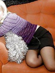 Nylon, Nylons, Upskirt stockings, Nylon stockings