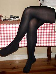 Upskirt stockings, Amateur stocking
