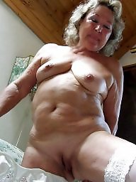 Granny, Stockings, Granny stockings, Big granny, Granny boobs, Granny big boobs