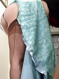 Upskirt, Upskirt stockings