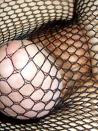 Pantyhose, Fishnet, Amateur pantyhose