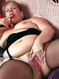 Bbw mature, Chubby mature, Bbw stockings