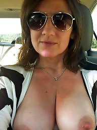 Lady, Natural boobs, Natural tits, Natural, Beautiful mature, Amateurs